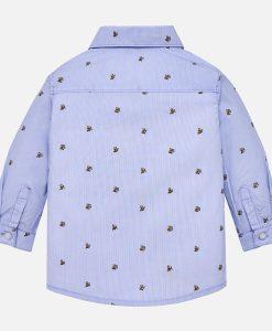 Πουκάμισο μακρυμάνικο σταμπωτό για μωρό αγόρι – Παιδικά Πετρούλα ede76c487b7