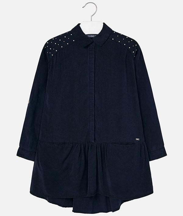 Φόρεμα τζιν με τρουκς – Παιδικά Πετρούλα 93e8422afa5