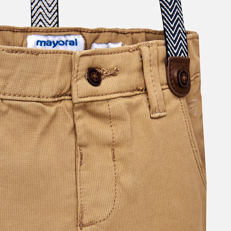 2b3edfd3b24b Παντελόνι slim fit λοξότσεπο πικέ με τιράντες – Παιδικά Πετρούλα