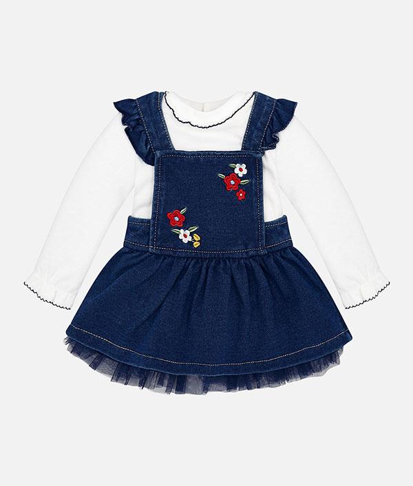 850a54eff7a Σετ φούστα σαλοπέτα τζιν – Παιδικά Πετρούλα